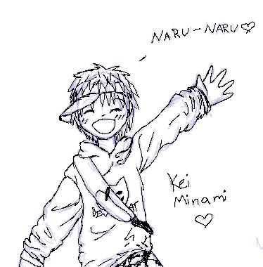 Kei Minami by Crysums