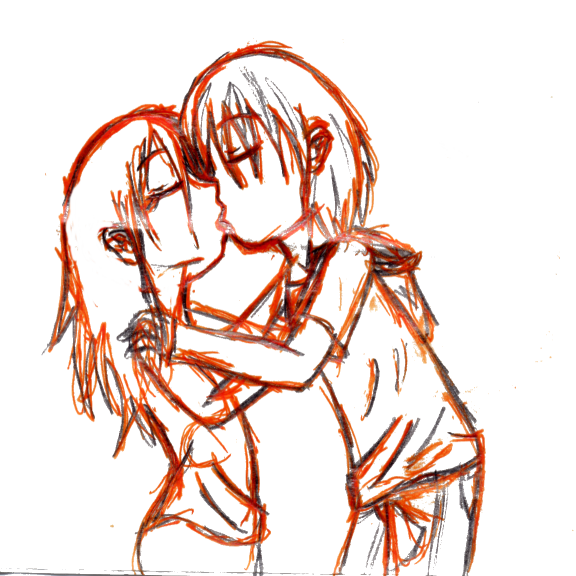 Orange Kiss by Crysums