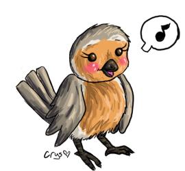 Birdie by Crysums