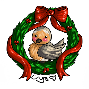 And a Partridge in a...Wreath by Crysums