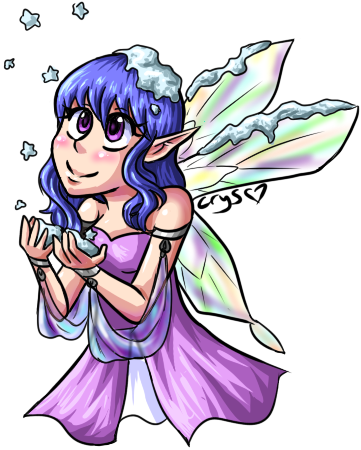 Winter Fairy by Crysums
