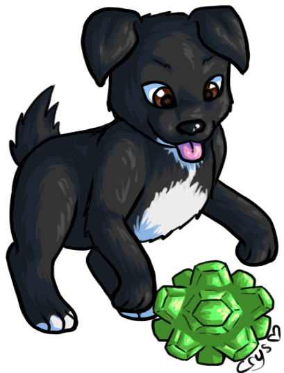 Sophie Puppy by Crysums