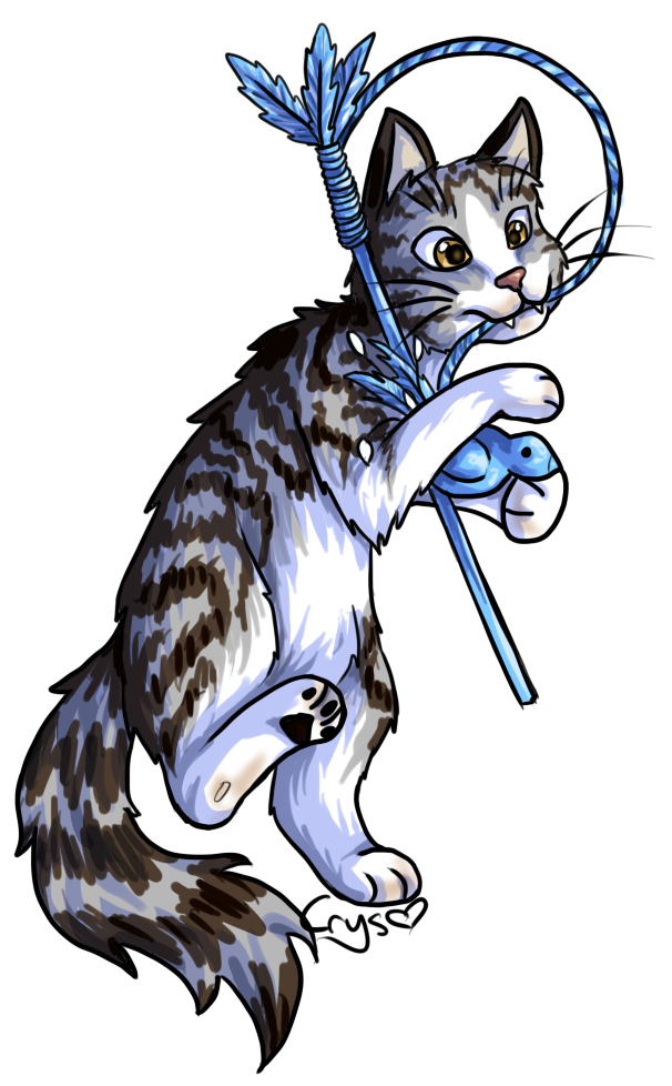 Dancing Kitty by Crysums