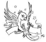 Swallow Tattoo Design WIP