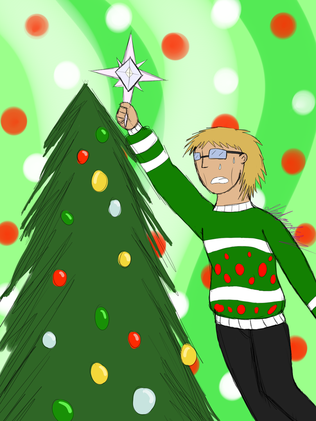 December Swappage - LeEf by Shadowkirby14