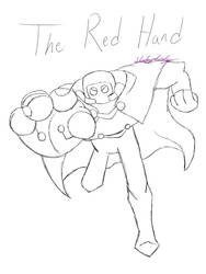 Consolation Sketch Prize - The Red Hand