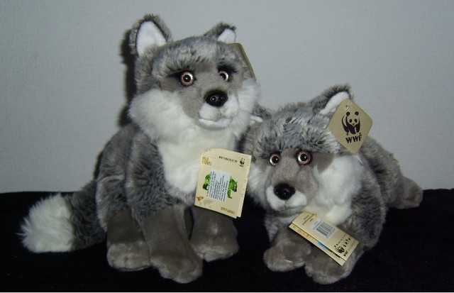 Silver Fox Stuffed Animal, New Wwf Silver Fox Collection By Jacks Plush Chamber On Deviantart