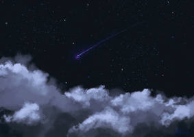 Night Clouds by Mellodee