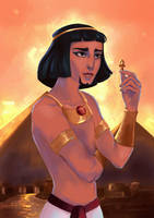 The Prince of Egypt by Mellodee