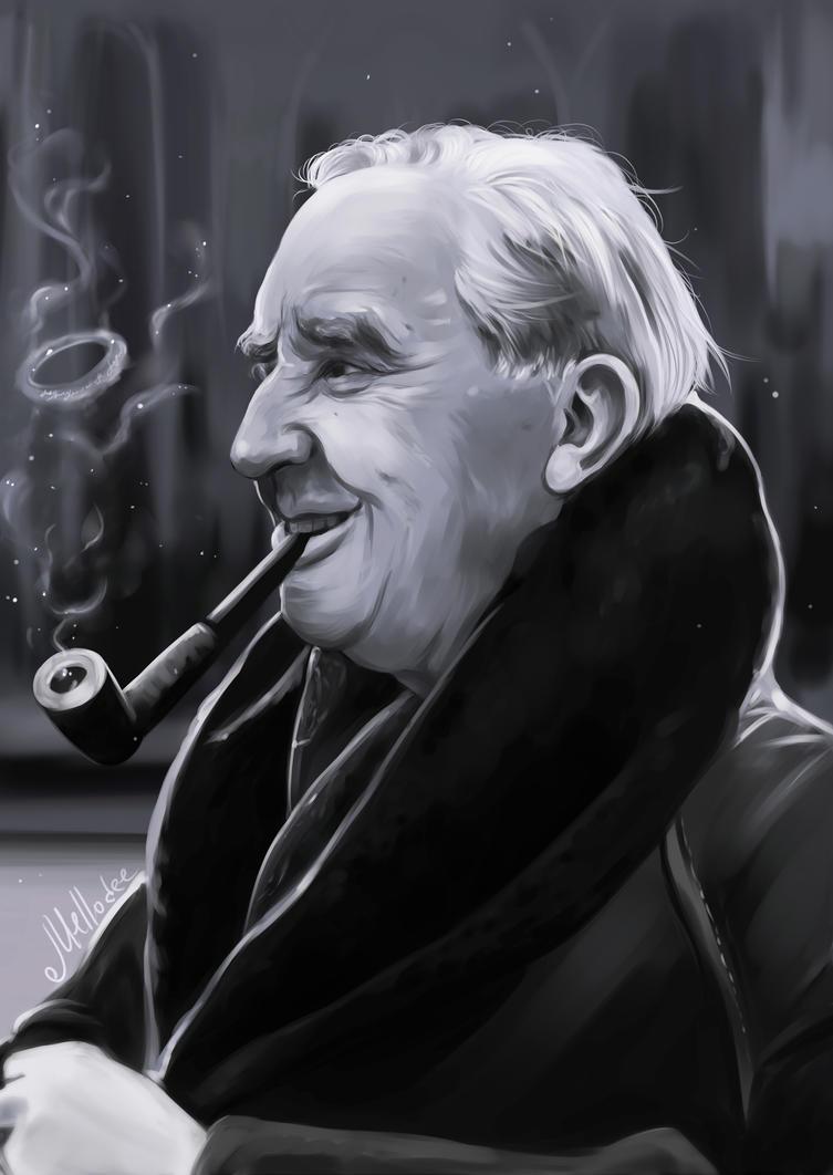 J R Smith Links Black Friday To Slavery On Instagram: J.R.R.Tolkien By Mellodee On DeviantArt
