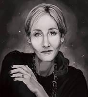 J.K.Rowling by Mellodee