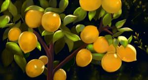 Sunny Lemons by Mellodee