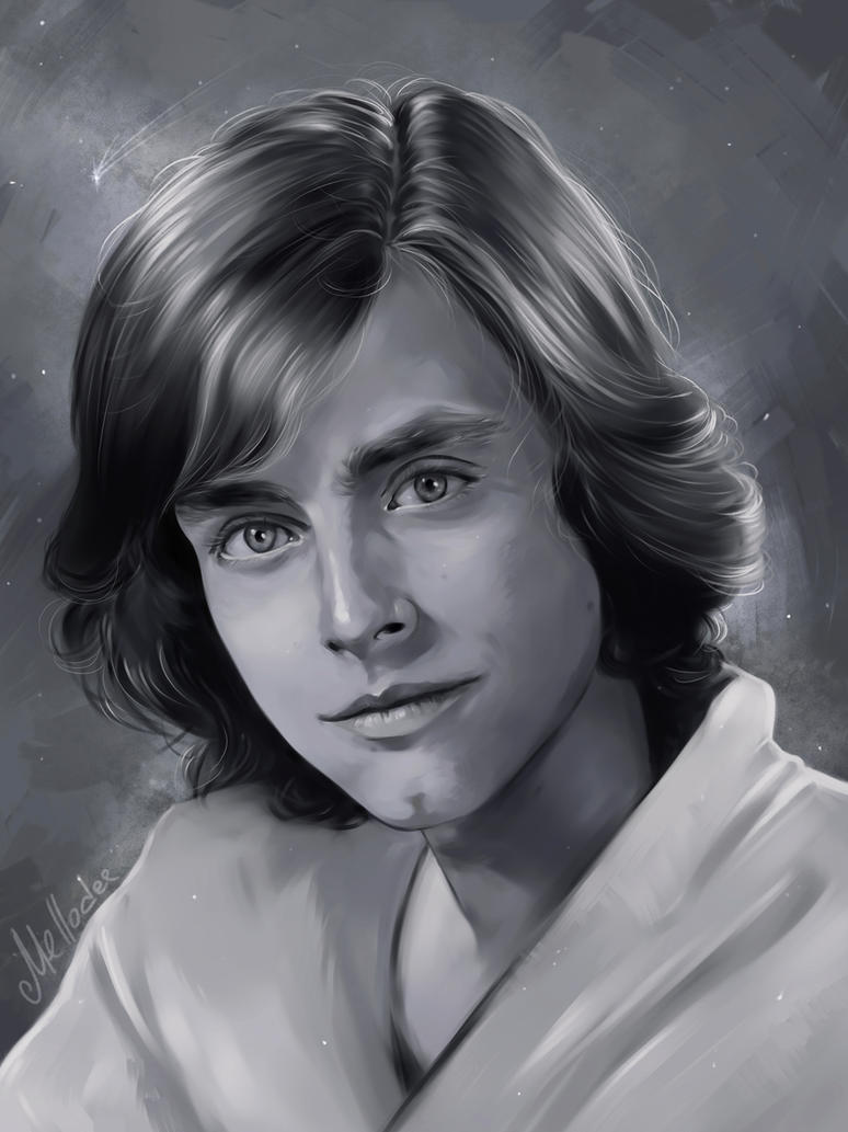Luke Skywalker by Mellodee