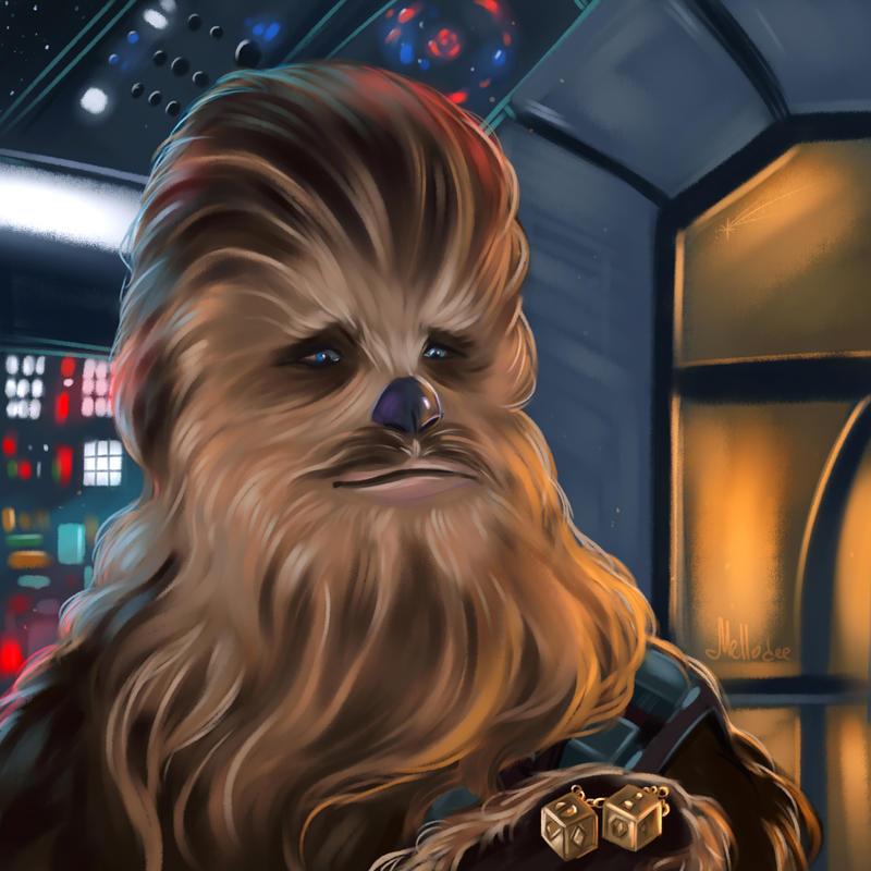 Chewie by Mellodee