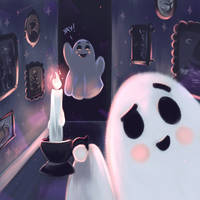 Haunted House (Yay) by Mellodee
