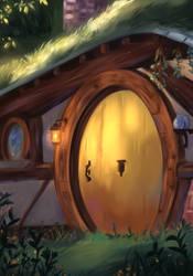 Hobbit's House by Mellodee