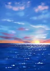 Sunset by Mellodee