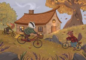 Autumn bike ride