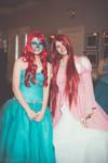 Two Disney Ariels at Masquerade Ball '13