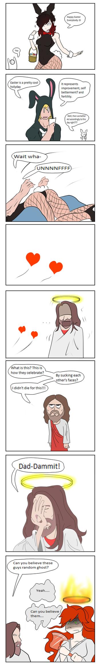 Easter Shenanigans by LeonardoFRei