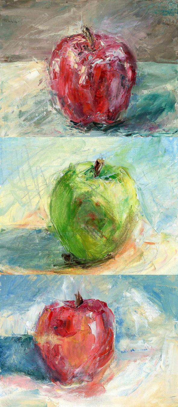 3 Apples by AlexFink