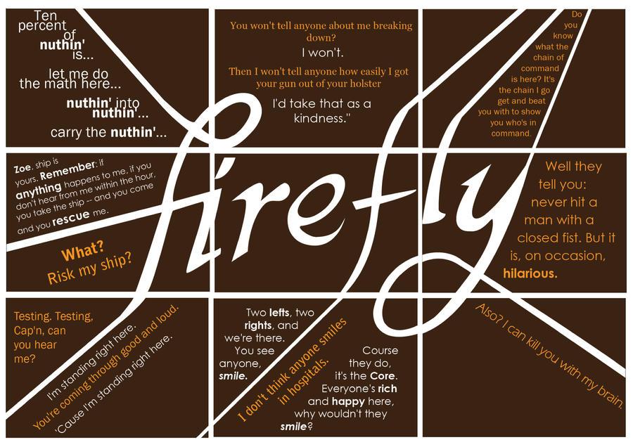Browncoat words by gaunty25