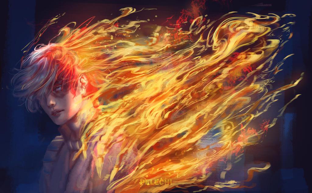 Fire by PelechiAM