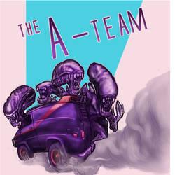 KaijuKarz Mashup HR Giger Aliens x A-team Van