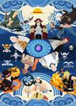 One Piece Minimalist Wallpaper