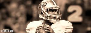 Colin Kaepernick - 49ers - Facebook Cover by enveedesigns