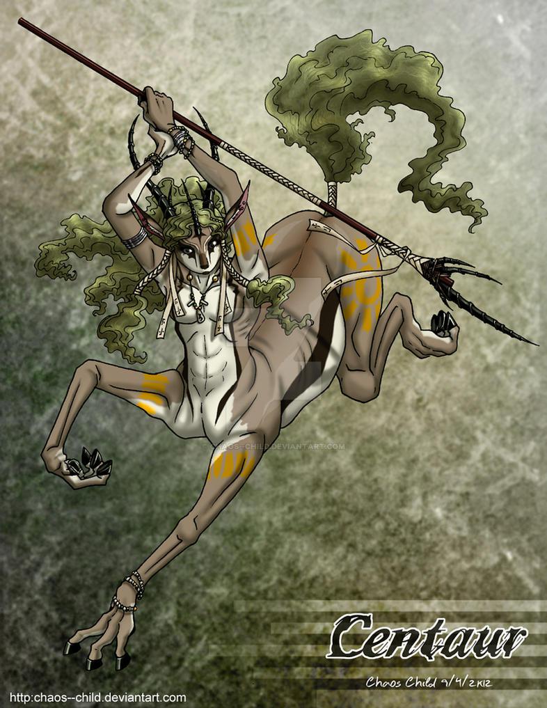 30 Monster Girls - 02 - Centaur by Chaos--Child