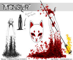 Month of ''Monster'' - Day 18 - Monster concept 10 by Chaos--Child