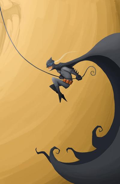 Jumping Bat by flattack