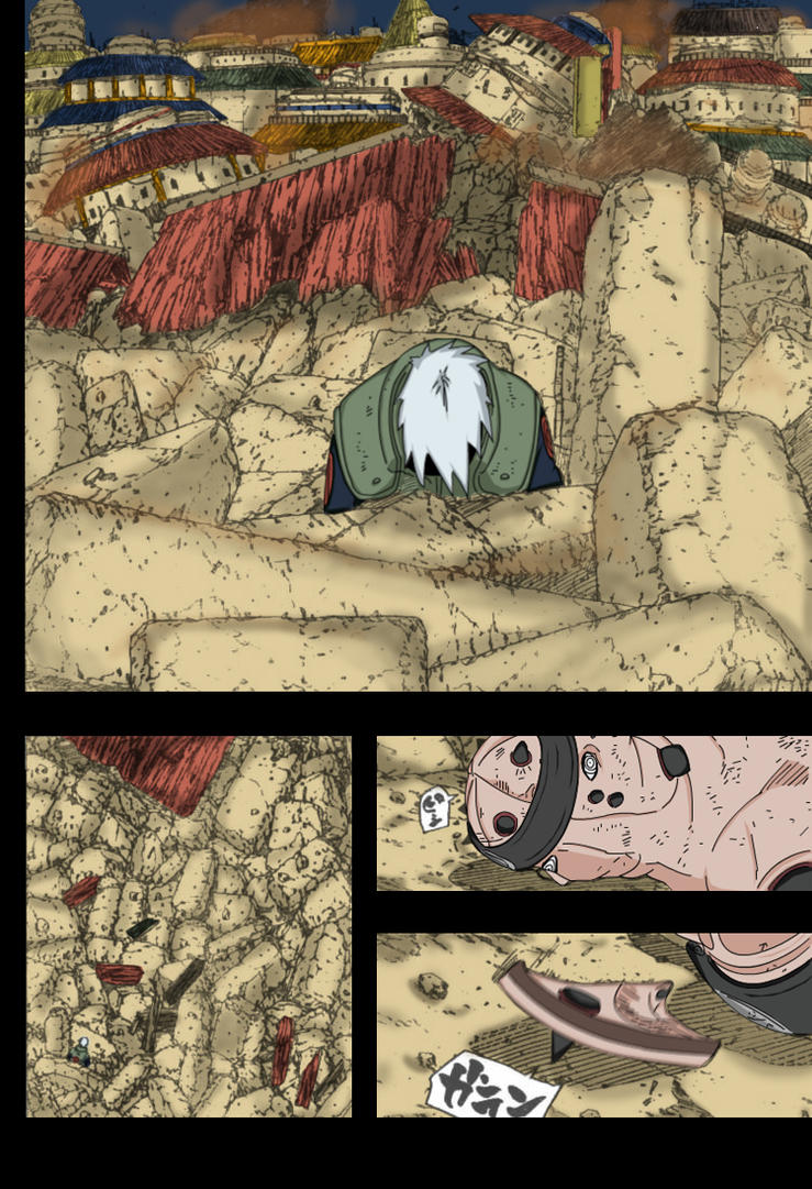 Kakashi vs Pain - COLOR by ddial-up