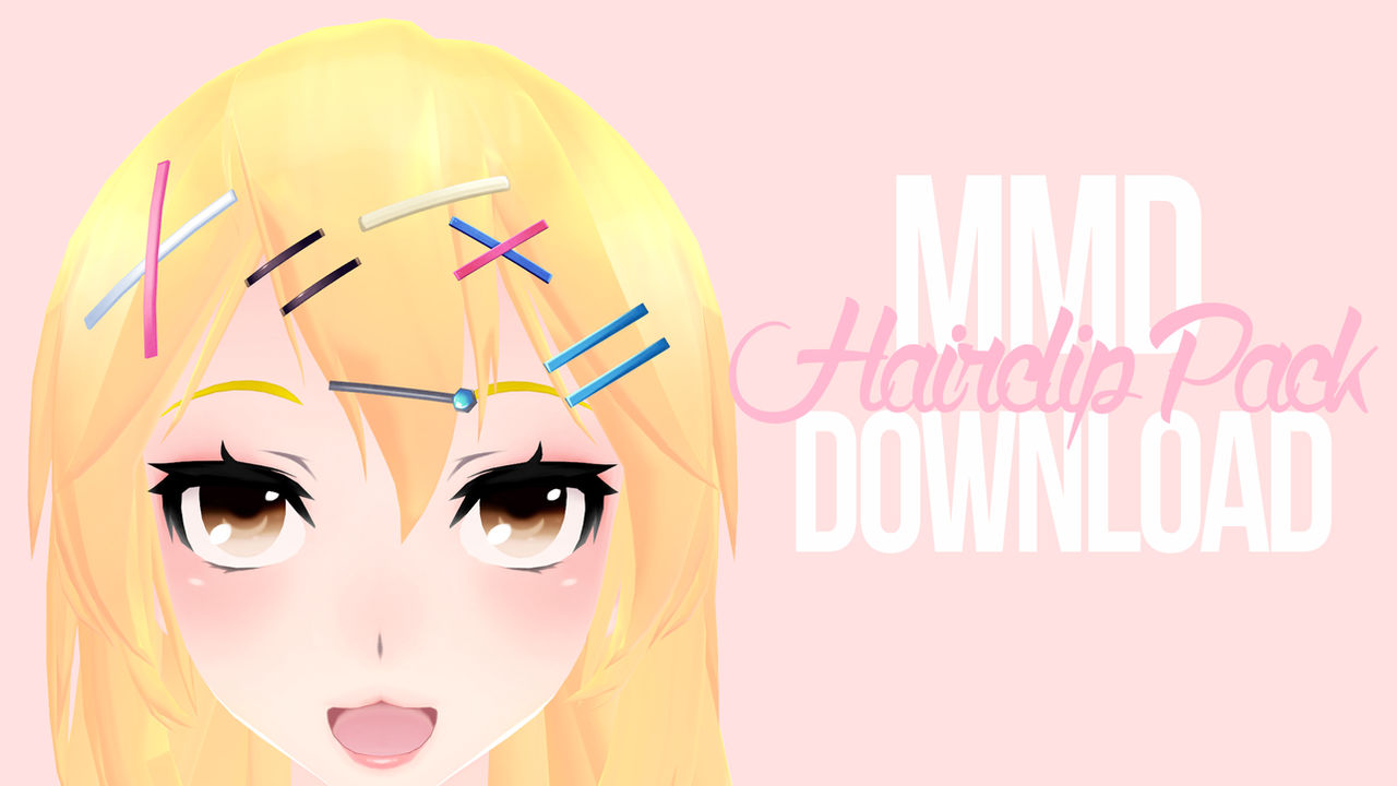 [MMD] Hairpin Pack DL