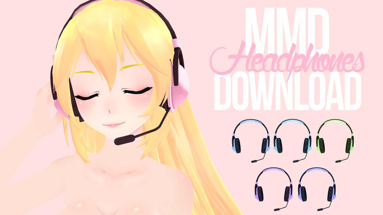 [MMD] Headphones DL