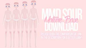 [MMD] Mature Sour Base DL