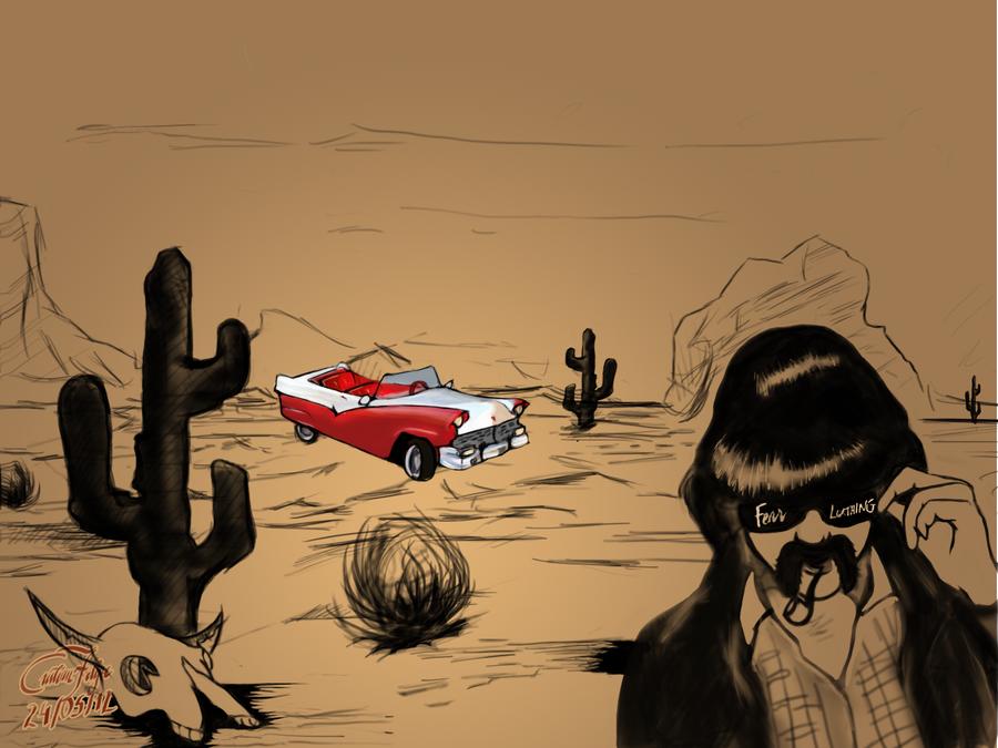 Fear and Loathing in Las Vegas by gordonf98