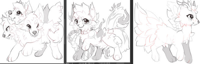 [Closed] [Concept Sketches] Random species #9