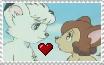Kimba x Laiya stamp by CallMeBlackBeauty
