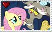 Fluttershy x Discord Stamp 2 by CallMeBlackBeauty