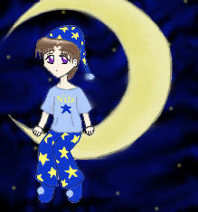 Colored Moon Child