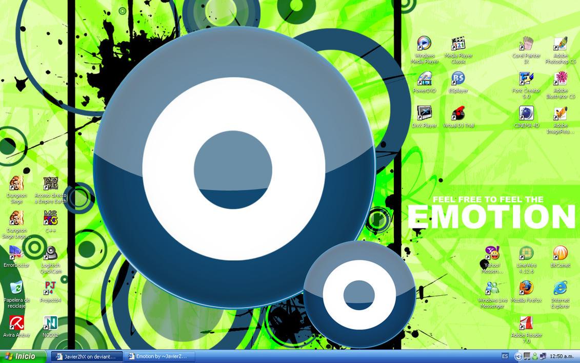 desktop by JavierZhX