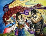 Commission: Yuna and Lulu