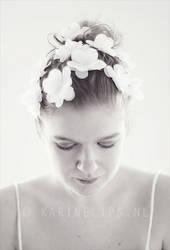 Flowers in her hair - 2 by karinelips