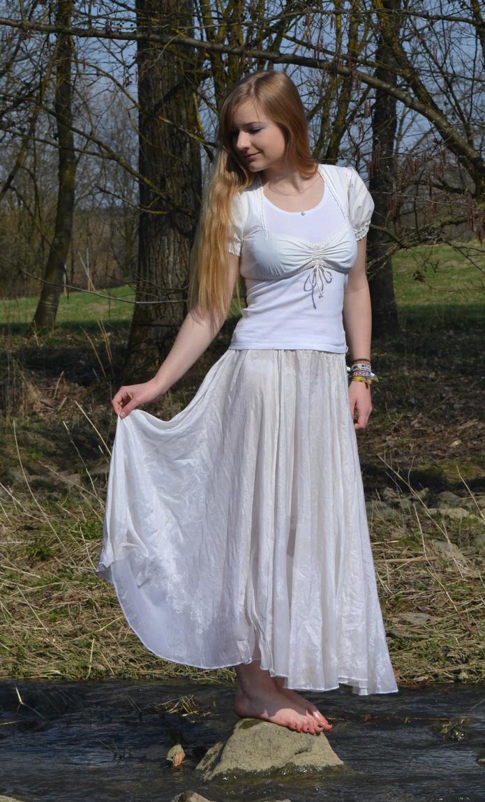 white dress stock - 3 by o0Christina0o