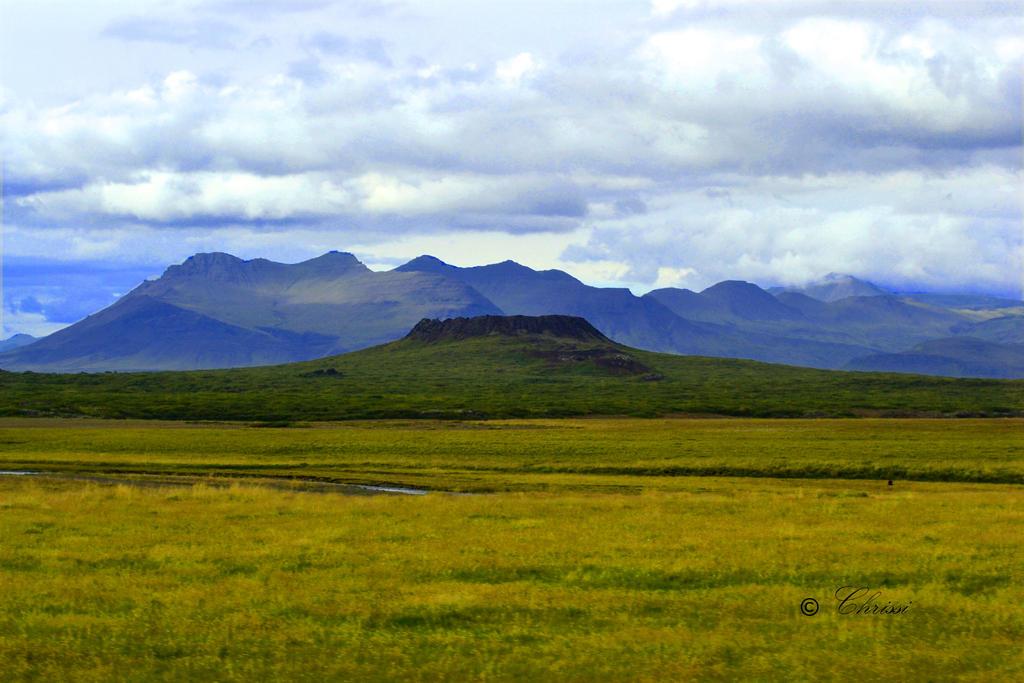 Eldborg Crater - Iceland by o0Christina0o