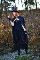 Steampunk Grim Reaper by o0Christina0o