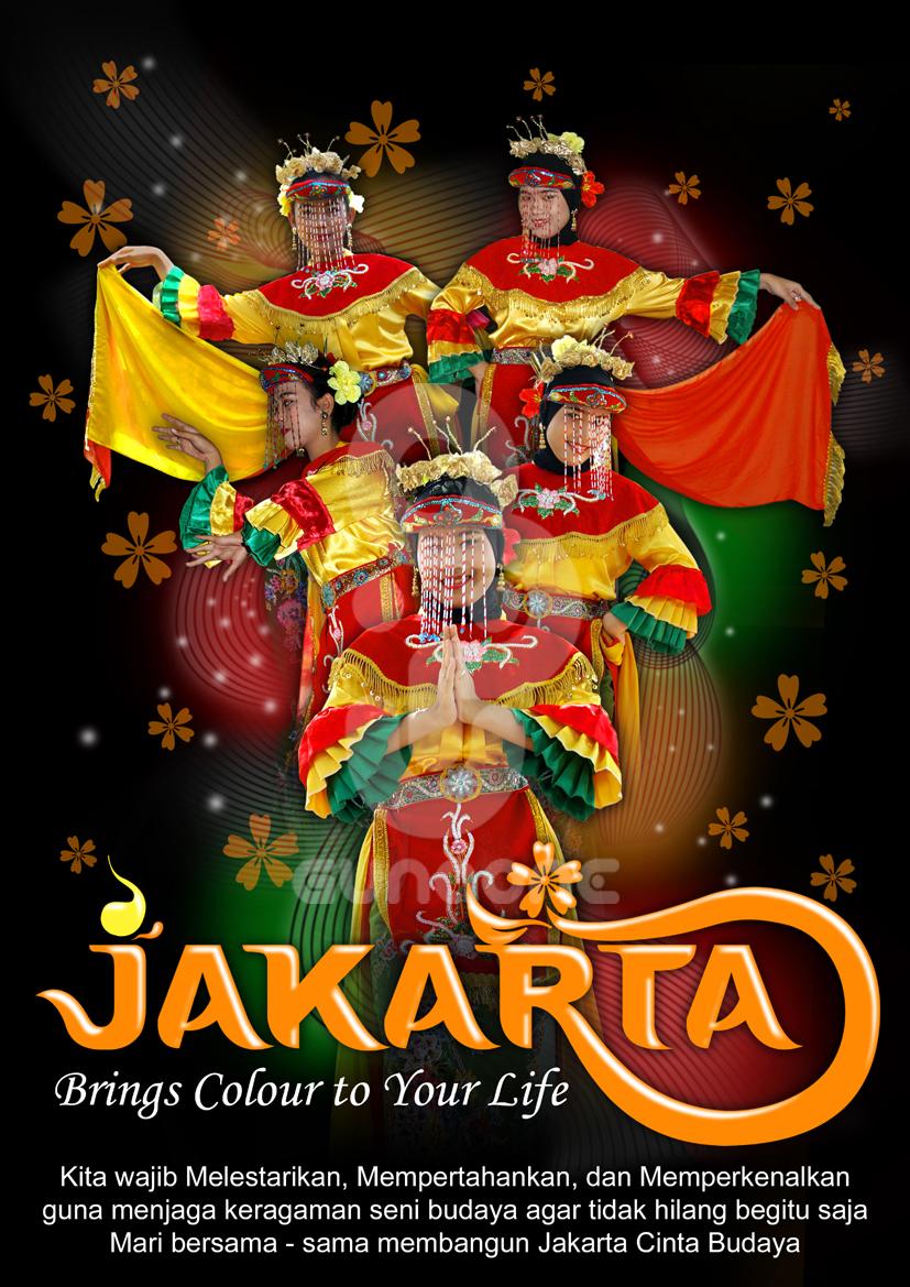 Poster Jakarta Cinta Budaya By Gunaone On Deviantart