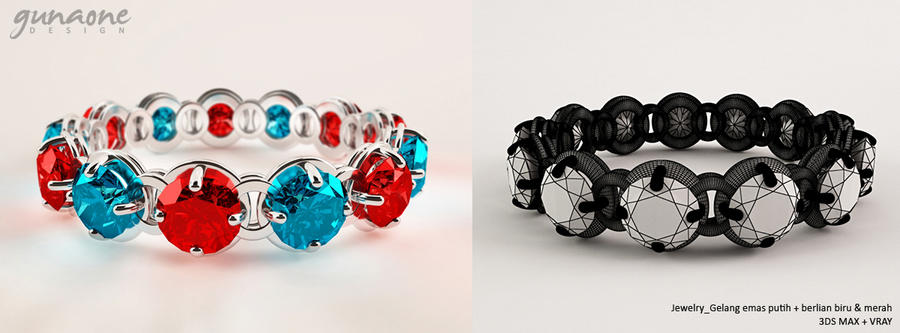 3D design jewelry 4 by gunaone on DeviantArt